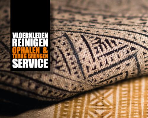 Vloerkleden ophaal en terug brengen service