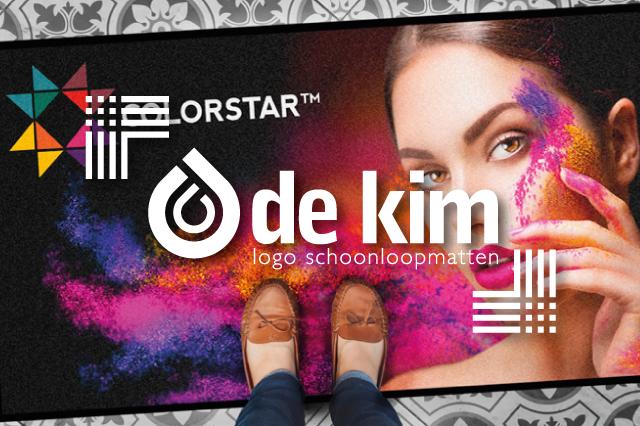 De Kim logo schoonloopmatten